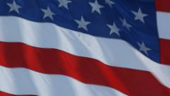 AMERICAN FLAG WAVING Stock Footage