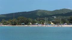 St Croix American Virgin Island beach HD 1119 Stock Footage