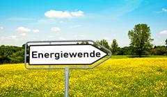 energy transition - stock illustration