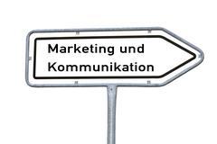 Marketing and Communications - stock illustration