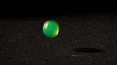 Bouncing Ball, Slow Motion Stock Footage