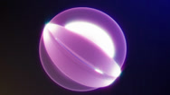 Stock Video Footage of shiny ball loopable Background