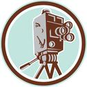 Stock Illustration of vintage movie film camera retro