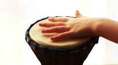 Playing Drum Stock Footage
