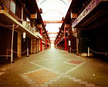 Asakusa nakamise shopping street Stock Photos