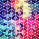 Stock Illustration of retro pattern of geometric shapes. colorful mosaic banner. geometric hipster