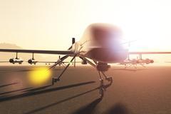 Drone Base  - stock illustration