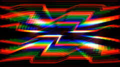 Light interference 4K loopable Background Stock Footage