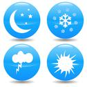 Stock Illustration of weather icons