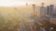 Stock Video Footage of Tel Aviv Mist
