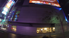 Nokia Theatre in the night in Los Angeles on CIRCA 2014. Stock Footage