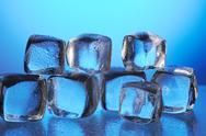Stock Photo of ice cubes