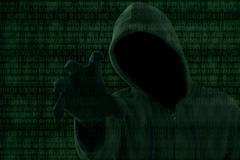 hacker attack concept - stock illustration