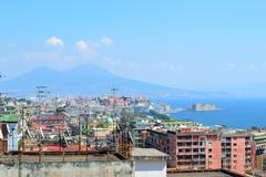 View of naples Stock Photos