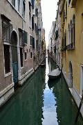 venice canal - stock photo