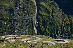 manali-leh road - stock photo