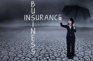 Stock Illustration of insurance business