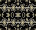 Stock Illustration of luxury silver ornamental pattern