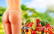 Stock Photo of dieting. balanced diet based on raw organic vegetables