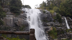 Chiangmai Super Waterfall Stock Footage