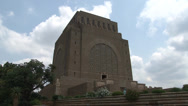 Stock Video Footage of Voortrekker Monument 12 Real Time PAL