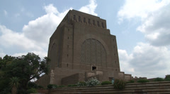 Voortrekker Monument 12 Time Lapse NTSC Stock Footage
