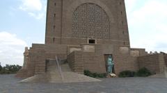 Voortrekker Monument 08 PAL Stock Footage