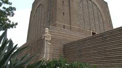 Voortrekker Monument 09 PAL Stock Footage