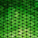 Stock Illustration of vector geometric pattern with geometric shapes, rhombus. that square design h