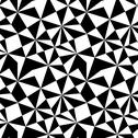 Stock Illustration of seamless texture with triangles, mosaic endless pattern. that square design h