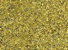 dry yerba mate leaves - stock photo