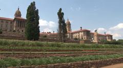 Union Buildings Pretoria South Africa 01 NTSC Stock Footage
