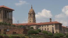 Union Buildings Pretoria South Africa 06 NTSC Stock Footage