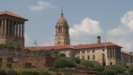 Stock Video Footage of Union Buildings Pretoria South Africa 06 NTSC