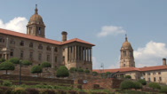 Stock Video Footage of Union Buildings Pretoria South Africa 07 NTSC
