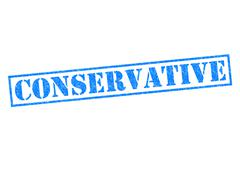 Conservative Stock Illustration