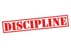 Discipline - stock illustration