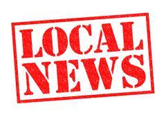Local News - stock illustration