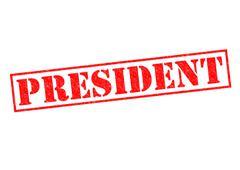President Stock Illustration
