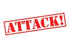 Attack! - stock illustration