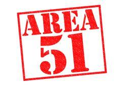 Area 51 Stock Illustration