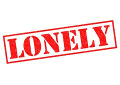 Lonely - stock illustration