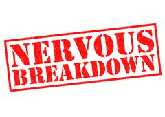 Nervous Breakdown Stock Illustration