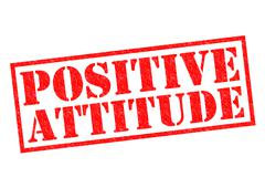 Positive Attitude Stock Illustration