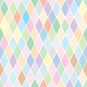 harlequin pale diamond pattern - stock illustration