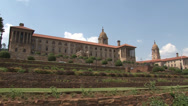 Stock Video Footage of Union Buildings Pretoria South Africa 04 PAL