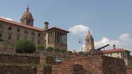 Stock Video Footage of Union Buildings Pretoria South Africa 08 PAL