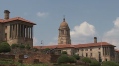 Union Buildings Pretoria South Africa 05 Zoom out NTSC Stock Footage