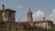 Stock Video Footage of Union Buildings Pretoria South Africa 05 Zoom out NTSC
