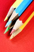 sharp pencils - stock photo